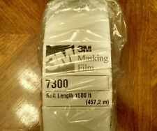 3M™ High Temperature Paint Masking Film 7300 Translucent, 3 in x 1500 ft