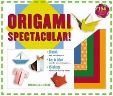 Origami Spectacular! Kit: [Origami Kit with Book, 154 Papers, 60 Projects]
