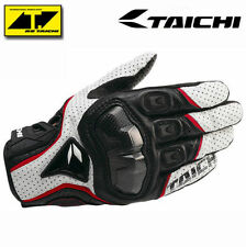 RST390 Perforated leather Mesh Gloves RS Taichi Mens White Size XL Motorcycle