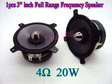 "1pcs New 3"" inch 4Ω ohm 20W Full Range Frequency Speaker Loudspeaker Für Car JBL"