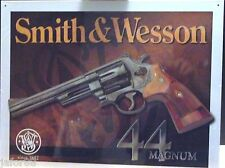 SMITH AND WESSON 44 MAGNUM METAL SIGN ( APO and FPO CUSTOMERS are WELCOME)
