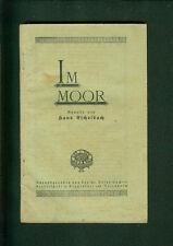 Im Moor Novelle von Hans Eschelbach St. Josef-Bücherbruderschaft 1930er