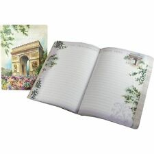 Punch Studio Travel Soft Cover Journals – Arc De Triomphe Paris Painting 45509