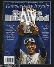 Sports Illustrated 2015 Kansas City Royals Commemorative Issue Newsstand Issue