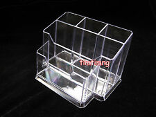 Nail Art Tools Lipstick Holder Box File Organizer Polish Plastic Case Makeup New