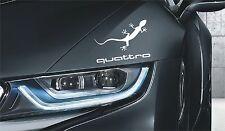 Audi Quattro Aufkleber Gecko für Innen und Außen Logo Simbol TT Q S RS TT Q S RS