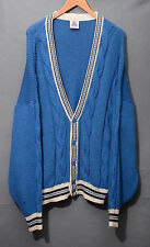 AMERICAN YVI LEAGUE CARDIGAN 80'S CASUAL VINTAGE A1038