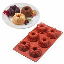 Silicone Cake Biscuit Baking Mold Cookies Chocolate Molds Pan Muffin Cups DIY