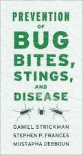 NEW - Prevention of Bug Bites, Stings, and Disease