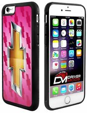 Cell Phone Cases Cover Skin for Apple iPhone 6 Chevy Gold Bowtie Logo Pink