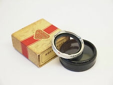 Rolleiflex Rolleisoft O Filter with Case & Box. Stock Number u1385