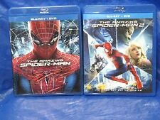 The Amazing Spiderman 1 & 2 (Bluray/DVD) w/Enter the Lizard Bonus Disc