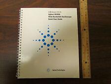 Agilent Infiniium DCA 86100A Oscilloscope Quick Start Guide