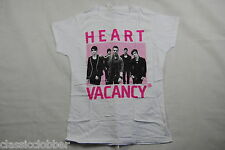 THE WANTED HEART VACANCY LADIES SKINNY T SHIRT LARGE NEW OFFICIAL BATTLEGROUND