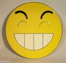 Años 80 Retro Smiley dientes personaje Hebilla de cinturón para casa Acid adjuntar al propio cinturón