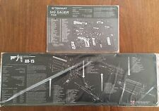 AR15 M16 M4 BATTLE RIFLE & SIG SAUER 226 PISTOL COMPUTER GAMERS XL MOUSE TEKMATS