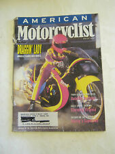 March 1997 American Motorcyclist Magazine, Draggin' Lady  (BD-26)