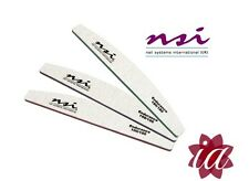 6 NSI Dura Nail Files 2 of each - 180, 150 & 100 Grit (Fast Delivery)
