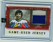 13/14 SUPERLATIVE GAME USED GUY LAPOINTE JERSEY- GOLD VERSION GUJ-18 THE FIRST 6