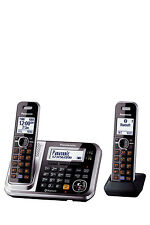 KX-TG7892AZS DECT Bluetooth® Cordless Phone with Answering Machine Twin Pac