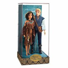 POCAHONTAS AND  JOHN SMITH DISNEY FAIRYTALE  DOLLS LIMITED EDITION  3532/ 6000