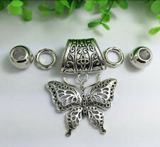 Hot Fashion DIY Necklace Jewelry Scarf Butterfly pendant set Charms