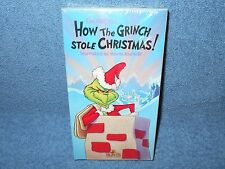 DR. SEUSS HOW THE GRINCH STOLE CHRISTMAS VHS 1990 - BRAND NEW SEALED