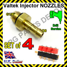 LPG GPL AUTOGAS Valtek Matrix Injectors Calibration Nozzle D6 SET of 4 1.5mm inD