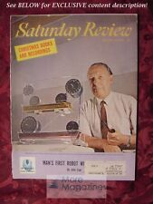 Saturday Review December 3 1966 JOHN F WHARTON MUSCLE ROBOT KENNETH REXROTH