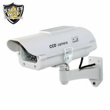 SWDC7SP Streetwise Fake Dummy Camera in Outdoor Housing with Solar Powered Light