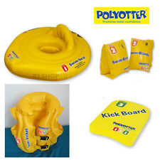 Zoggs Polyotter Swimming Bundle (Steps 1,2 & 3) Swim Jacket Seat Bands Kickboard