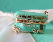 TIFFANY & CO DOUBLE DECKER BUS! BRAND NEW! TIFFANY BLUE! STERLING! 925! SILVER!