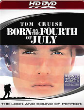 Born on the Fourth of July HD DVD New Rare Tom Cruise Oliver Stone + Commentary