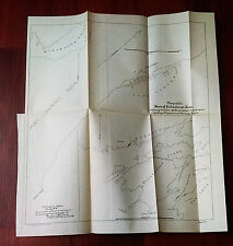 1899 Map of Saint Lawrence River and Saint Vincent New York