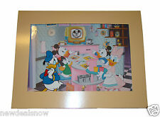 "Disney Hollywood Studios Donald Duck ""Prime Time Donald"" Hand Painted Cel. COA."