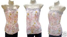 Ladies Pink Camisole Top Colorado Babydoll Size XL 14 -16 Cami Tank New RRP$90