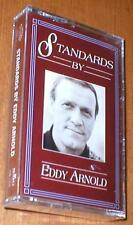 Standards by Eddy Arnold - New Cassette Album with 14 Tracks