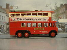 REFINISHED LLEDO LP41 ZIPPO LIGHTERS KARRIER TROLLEY BUS