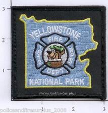 Wyoming - Yellowstone National Park WY Fire Dept Patch Yogi Bear