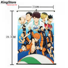 Japan Anime Haikyuu Shoyo Hinata Shonen Home Decor Poster Wall Scroll 21*30 cm A