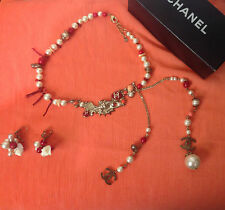 CHANEL 2005 Cruise Runway Pearl Necklace and Earrings set - christmas present?