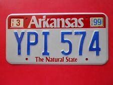 1999 Arkansas Passenger license plate