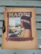 THE MAORI 1923 LARGE BROCHURE  NEW ZEALAND GOVERNMENT WELL ILLUSRATRED