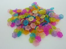 200 pce Colourful Daisy Flower Spacer Beads 11mm