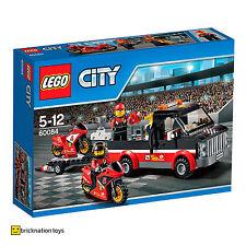 LEGO 60084 CITY BICICLETTA da corsa trasportatore NUOVO SIGILLATO
