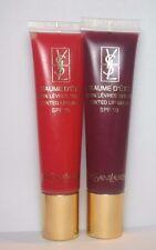 YSL * Yves St Laurent Baum D'ete (2 Lip glosses) #2 & 4 HTF Colors * $80