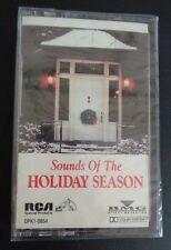 SOUNDS OF THE HOLIDAY SEASON Music Cassette NEW Christmas 1988 Free Ship SEALED