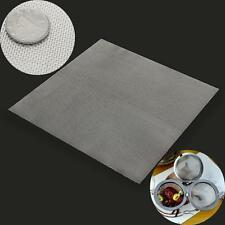 30x30CM Stainless Steel 20 Mesh Filtration Filter Sheet Woven Wire Medium Gauze