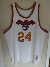 Vintage Mike Lewis 24 Jersey Pittsburgh Condors ABA MITCHELL AND NESS Men 60 4XL