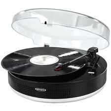 NEW Jensen Bluetooth Stereo Turntable + Metal Tone Arm - Play & Digitize Records